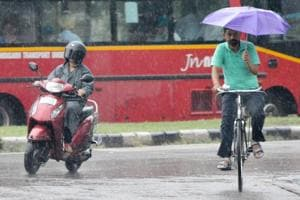 Chandigarh: Showers are here, but monsoon to follow only by the...