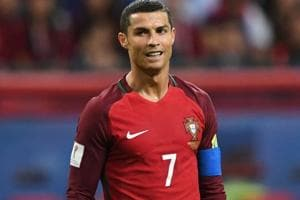 Cristiano Ronaldo leaves FIFA Confederations Cup to be with his...