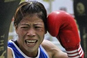 Mary Kom inspires Indian women's team ahead of Hockey World League...