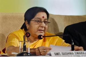 Sushma Swaraj assures help to Indian woman jailed in Saudi Arabia