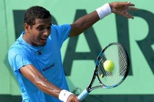 Ramkumar Ramanathan goes down fighting to Marcos Baghdatis at Antalya...