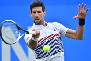 Novak Djokovic battles past Donald Young in Eastbourne quarterfinals