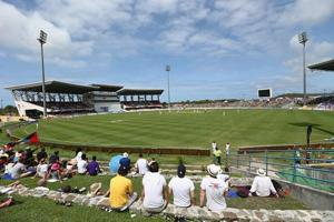Sir Vivian Richards Stadium, an Antiguan white elephant that lumbers...