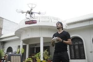Cost of these drones would be no less than Rs one lakh and it would be powered by a heavy duty battery.
