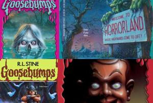 What initially attracted kids to the Goosebumps books were the iconic neon cover art and catchy titles.