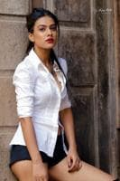 Nia Sharma saysSpaniards are fun loving people and they love to dance to Punjabi songs.
