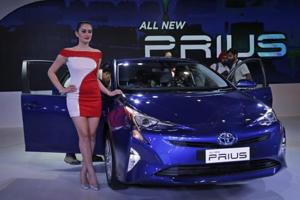 Toyota's hybrid sedans Camry and Prius are now dearer by Rs 5.24 lakh in New Delhi.
