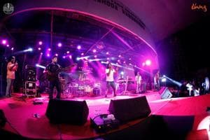At NM College's annual festival, Umang, the 'Progress to perfection' event offers a platform to western music bands.