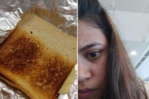 Khushbu Kaushal said she was allowed to buy food and water seven hours after she reached Georgia.