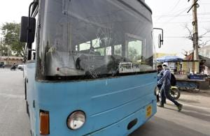 Buses plying on Gurgaon's streets presently are mostly dilapidated.