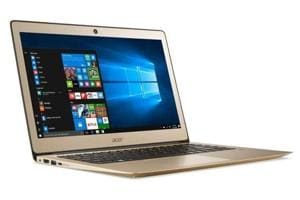Acer Swift 3 SF314-51 is priced at Rs75,990, which puts it in the category of a premium notebook.