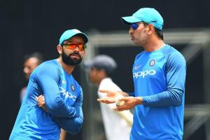 Virat Kohli has backed MS Dhoni's form and said one odd instance of not finishing a game does not make it a big issue for the Indian cricket team.
