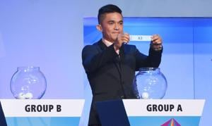 India have been placed in Group A along with USA, Ghana and Columbia as they prepare to host the FIFA U17 World Cup for the first time.