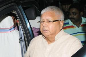 RJD president Lalu Prasad's residence was raided by the CBI on Friday morning.