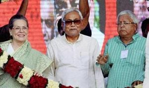 Eighteen months after coming to power in Bihar, grand alliance partners are not on same page on many issues.