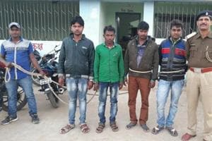 Cyber criminals arrested by Karmatand police in January at Jamtara district. In the first six months of this year, police arrested about 100 cybercriminals from the district and many more are on the run.