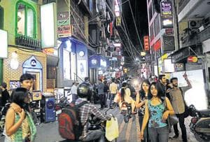 Restaurateurs in Hauz Khas Village say that their establishments are seeing a drop in business over the threat perception.