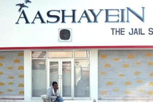 Aashayein, the shop selling products made by the Jaipur Central Jail inmates, at Jaipur Central Jail.