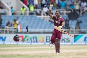 Evin Lewis blasted a century as West Indies thrashed India by nine wickets in the one-off Twenty20 International in Jamaica. Get highlights of India vs West Indies here.