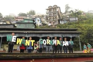 The movement for Gorkhaland will be stepped up through a series of agitation programmes, the Gorkhaland Movement Coordination Committee decided on Tuesday.