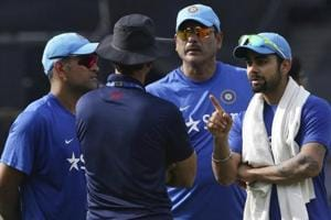 Ravi Shastri was named as the Indian cricket team head coach but the BCCI called it a false alarm and said the Cricket Advisory Committee was still deliberating on the issue.