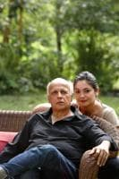 Two cool to care: Pooja Bhatt, like her dad, Mahesh Bhatt, is known for speaking her mind