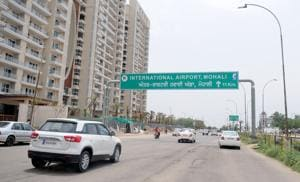 Boom in real estate: An eight-lane airport road connecting Punjab with the international airport has spurred in housing and commercial activities.