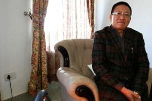 File photo of former Nagaland chief minister T R Zeliang claims to have the support  of 44 MLAs  in the 60-member state Assembly.