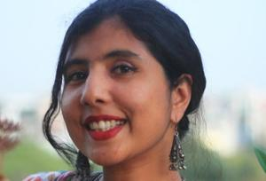 Author Meenakshi Reddy Madhavan is known for novels such as You Are Here and Cold Feet.
