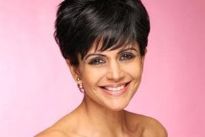Actor Mandira Bedi will be seen playing the role of a cop in Tamil film Adangathey.