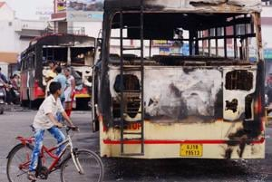 In 2015, nearly five lakh Patidar youth went on a rampage in Ahmedabad demanding reservations. Hundreds of agitators were arrested, including the 22-year-old leader of the movement, Hardik Patel.
