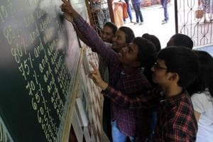 Of the 1.5 lakh students, 79,000 confirmed their seats till Thursday evening.