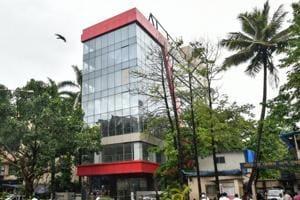 The commercial building built on the Mhada plot at Oshiwara in Mumbai.