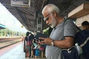 Photo of MP Ramachandran, who looks uncannily similar to PM Narendra Modi, went viral on social media.