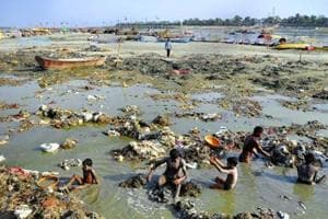 """Indicting the callous manner in which public money is being spent, the bench noted that """"even after spending Rs 7,304.64 crore up to March by the Centre, state government and local authorities of the state of UP"""" the status of the Ganga has """"not improved in terms of quality or otherwise and it continues to be a serious environmental issue"""" (AFP)"""
