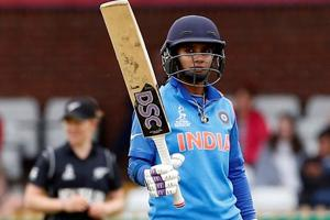 Mithali Raj slammed her sixth century as India reached a great position against New Zealand in the ICC Women's World Cup clash in Derby.
