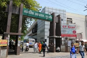 The Civil hospital has breaches in the pipeline connected to the main water tank and there are technical issues with two water pumps as well.