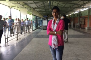 Noorjahan Khatun, 27, has reunited over 100 people who separated from their families at the Delhi Metro.