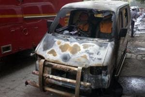 While cars constituted a bulk of vehicles that caught fire, the rest included buses, tempos, autorickshaws and even road rollers.