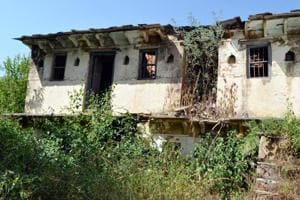 An abandoned house in a Garhwal village