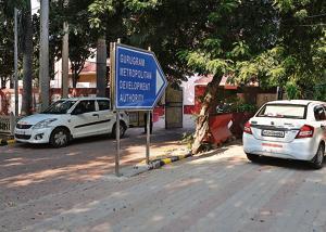 Gurgaon Metropolitan Development Authority office at civil lines road in Gurgaon.