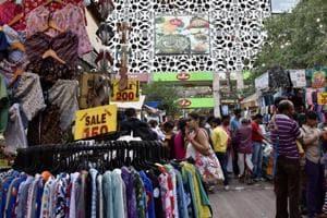 Sarojini Nagar (above) and Basant Lok are old markets of south Delhi.