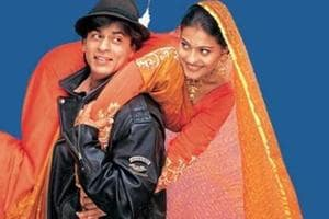 A board outside the theatre on Monday informed DDLJ fans that the show had been cancelled.