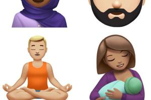Yoga master, hijab-wearing woman among Apple's new emojis