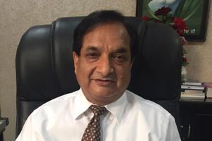 BFUHS vice-chancellor Dr Raj Bahadur.