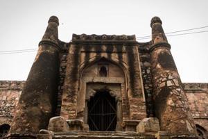 Photos: Delhi's forgotten 'mosque of windows' in Khirki Village