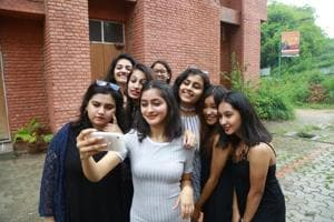 Day one at Delhi University: Despite rain, freshers got their fashion...