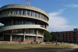 'Panjab University's dept of education has maximum registered...