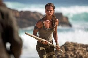 Alicia Vikander always dreamed about being an action hero, and now...
