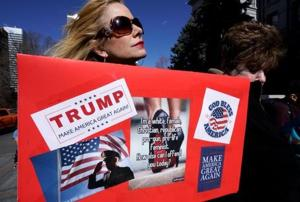 1 in 8 people who voted for Trump want to change their vote:...